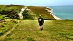 Walking along the South Downs Way for the Royal Marines Charitable Trust Fund