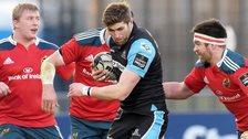 Glasgow face Munster in Belfast