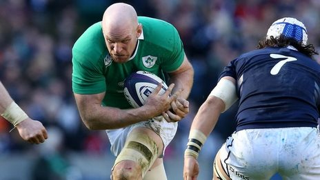Paul O'Connell helped Ireland clinch a second successive Six Nations title last month