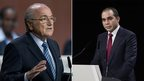 Sepp Blatter and Prince Ali bin al-Hussein (29 May 2015)