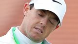 Rory McIlroy was unable to undo the damage of his opening nine-over-par 80