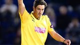 Chris Wood of Hampshire celebrates