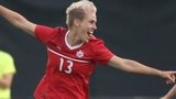 Sophie Schmidt was on target for Canada