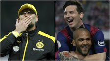 Jurgen Klopp and Lionel Messi
