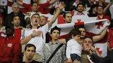 Georgia football fans at a match