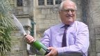 Great-grandfather's £13.5m lotto win
