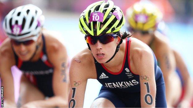 Helen Jenkins has twice won the ITU World Triathlon Series in 2008 and 2011