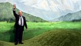 Sepp Blatter poses for photographers during the inauguration of the World Cup International Broadcasting Centre in Munich - June 6, 2006