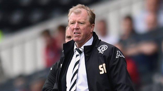 Former Derby manager Steve McClaren