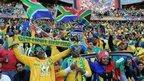 SA fans at World Cup 2010