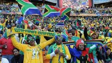 SA fans at World Cup 2010