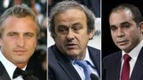 David Ginola, Michel Platini, Prince Ali