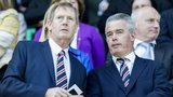 Rangers Chairman Dave King (left) and Director Paul Murray