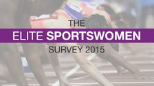 Elite sportswomen survey graphic