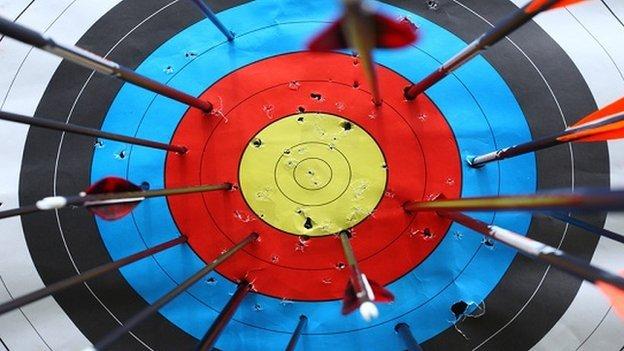 Archery graphic