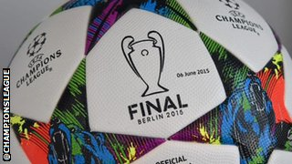 Champions League final ball