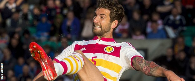 Charlie Mulgrew got through a full 90 minutes in Scotland's friendly with Qatar last week