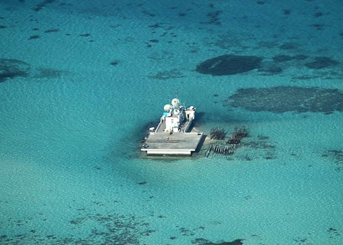 South China Sea Building Islands