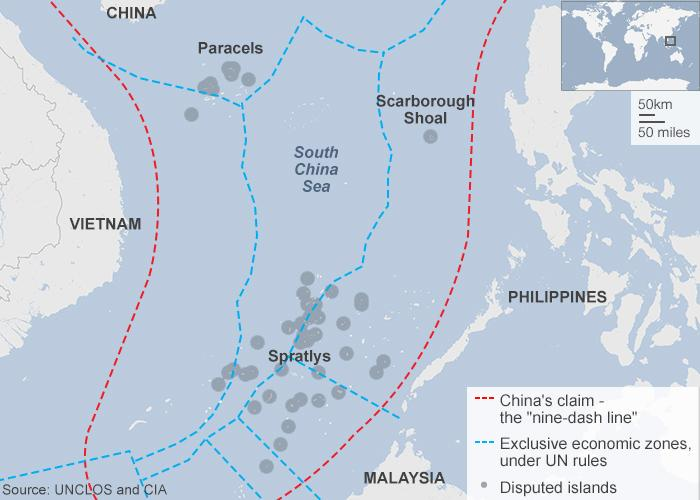 How Does China Builds Artificial Islands South China Sea