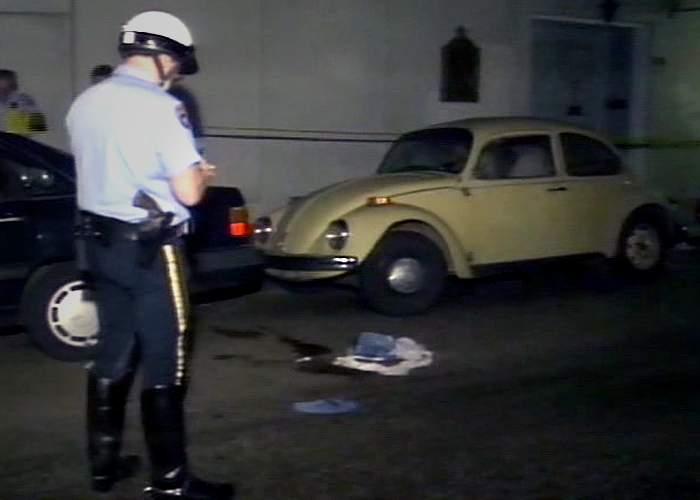 Julie Stott murder scene, 1992