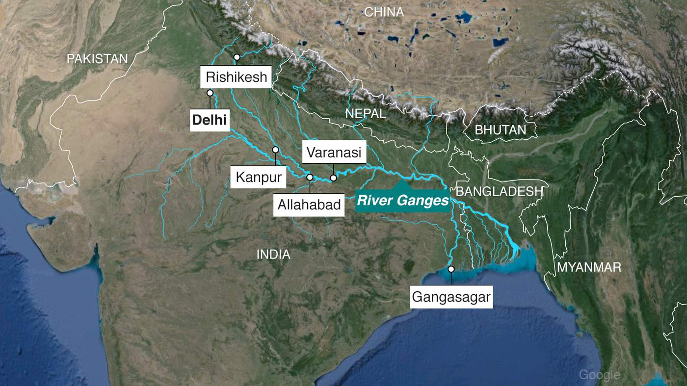 ganges river pollution chart - photo #38