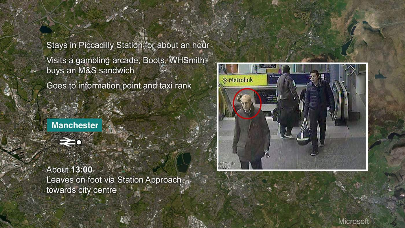 body on the moor bbc news after leaving manchester piccadilly station there is a missing 59 minutes in the timeline