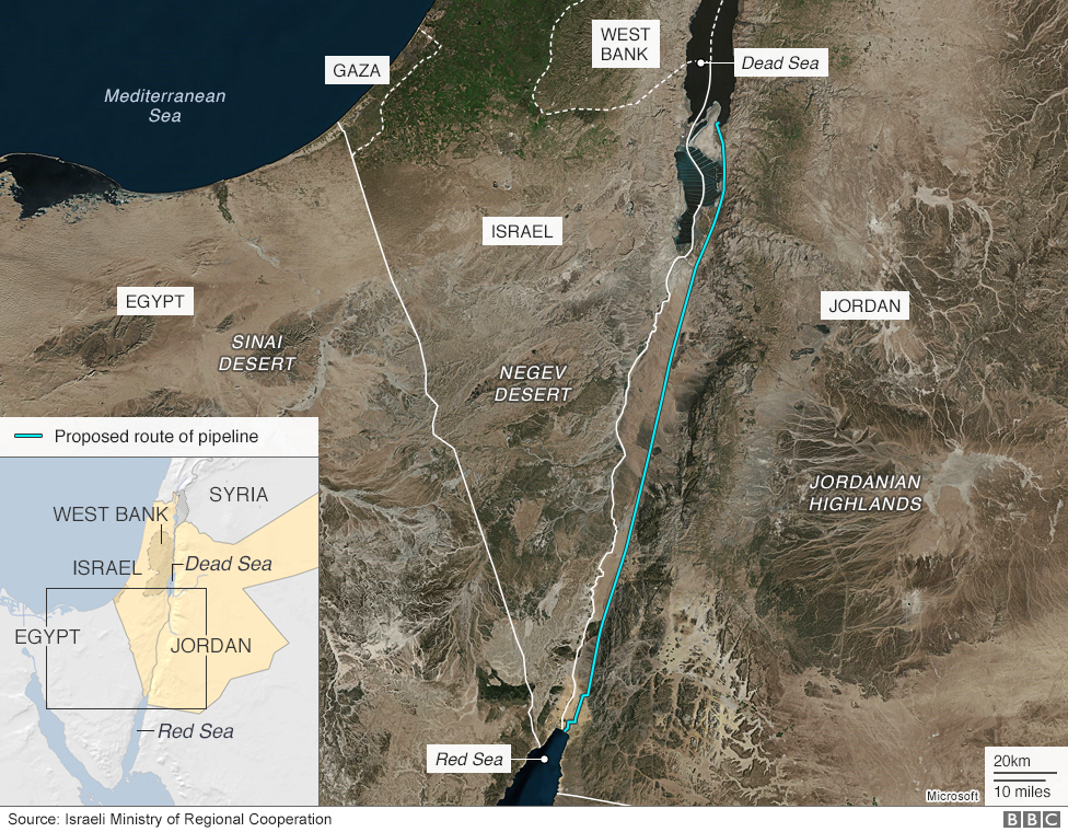 Dead Sea drying: A new low-point for Earth - BBC News Red Sea Jordan River Map Of Mediterranean on sea of galilee map jordan river, egypt map jordan river, asia map jordan river, middle east map jordan river, israel map jordan river,