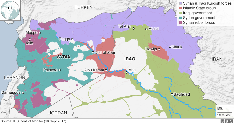 How Did Is Spread Across Iraq And Syria