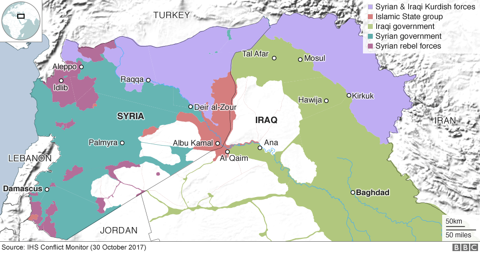Islamic State And The Crisis In Iraq And Syria In Maps BBC News - Iraq map