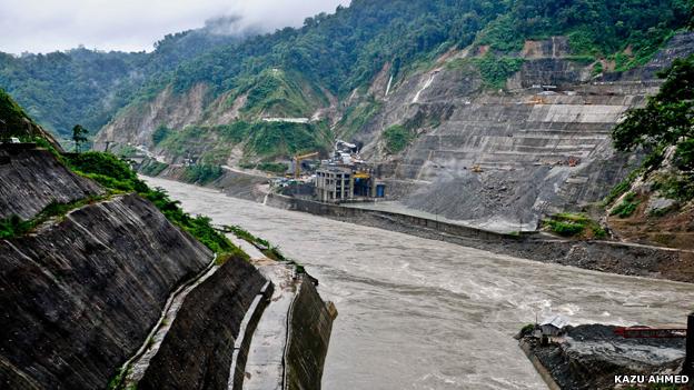 Subansiri dam site
