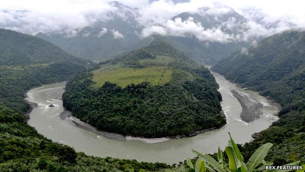 Ganga and jamuna