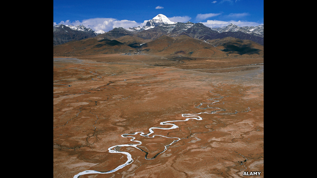 Source of Yarlung Zangbo