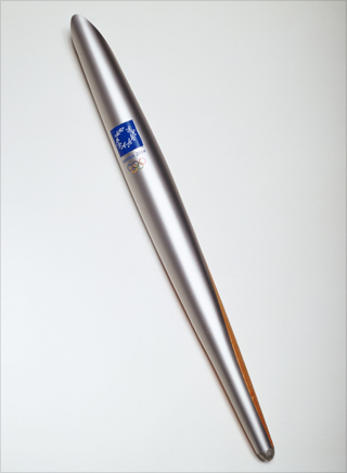 Photo: The torch design for the 2004 Summer Games
