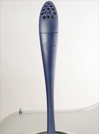 Photo: The torch design for the 2006 Winter Games