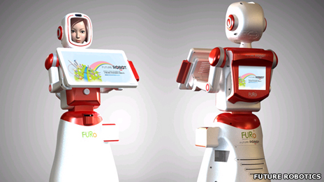 Robot sales assistants