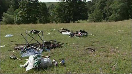image of campsite