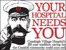 Cranleigh Village Hospital Trust poster