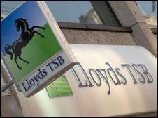 Lloyds shopfront