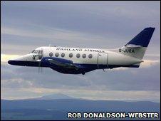 Jetstream 31. Pic: Rob Donaldson-Webster