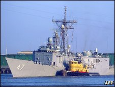 USS Nicholas (file photo)