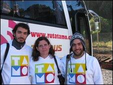 Ruta Tamo team