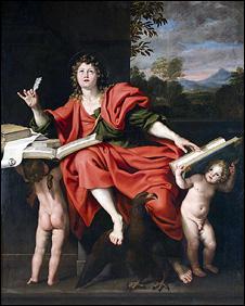 Saint John the Evangelist, by Italian master Domenichino