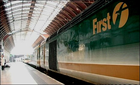 First Great Western Train