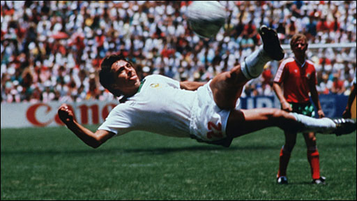 Manuel Negrete's scissor kick against Portugal
