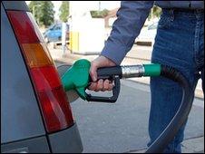 Petrol pump (generic)