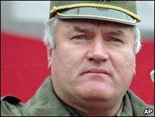 Ratko Mladic in Vlasenica in 1995