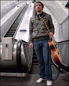 Guitarist Sam Burridge