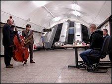 Jazz duo Pete Whyatt and Adrian Northover