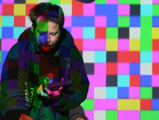Matthew C. Applegate performs chiptunes as Pixelh8