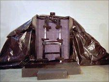 Utah execution chair